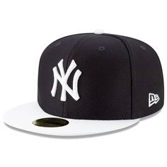 Men s New York Yankees New Era Navy White 2019 Batting Practice 59FIFTY  Fitted Hat c338901ef35