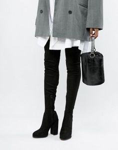 20f1e30577c2 Shop ASOS DESIGN Slim Kassidy heeled over the knee boots at ASOS. Discover  fashion online