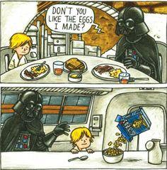 Starwars: Darth Vader and Son