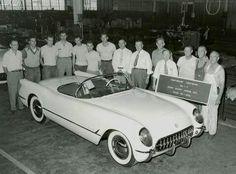 Very first Corvette
