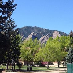 #HappyFridayThe13th ... Beautiful day in #Boulder #Colorado  (04.13.2012)