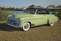 1950 CHEVROLET BEL AIR 2 DOOR HARDTOP