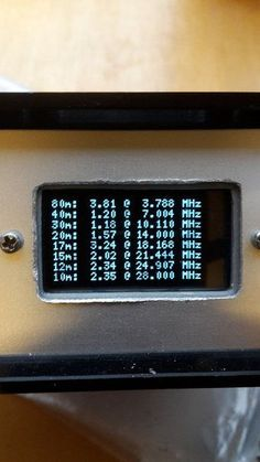 HF Antenna Analyser With Arduino and DDS Module: 6 Steps (with Pictures) Arduino Based Projects, Diy Projects, Ham Radio Equipment, Communication Techniques, Ham Radio Antenna, Energy Technology, Electronics Projects, Emergency Preparedness, Display
