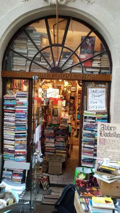 The Abbey Bookshop — Paris, France