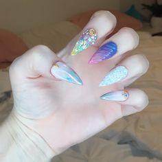 """897 curtidas, 35 comentários - Natalie Mars (@the.natalie.mars) no Instagram: """"New nails by @thenailgurulv """""""