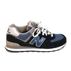 2c356879d4 New Balance 574 - Navy New Balance Outfit, New Balance Sneakers, New Balance  Shoes
