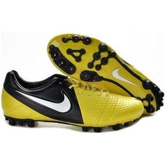 http://www.asneakers4u.com Nike CTR360 Maestri III AG Mens Artificial Grass Football Cleats In Yellow Black White