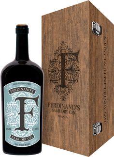 Ferdinand's Saar Dry Gin 1,5 l Magnum - Der deutsche Gin mit der Riesling Infusion