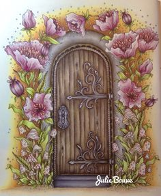 Sommarnatt by hanna karlzon Prismacolor pencils Colored by Julie Bouve