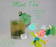 """""""Mad Tea""""   29 Disney-Themed Cocktails You Need To Try ASAP"""