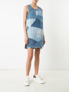 Prps patchwork denim dress