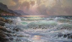 pacificdream - Seascapes Paintings by Alexander Dzigurski  <3 <3
