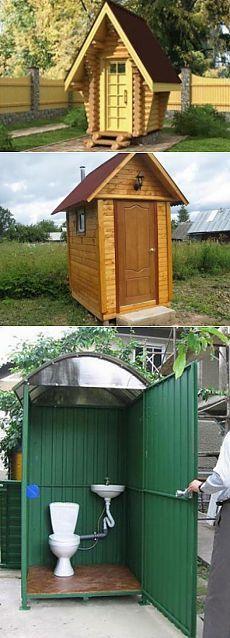 Как построить туалет на даче своими руками - люфт и пудр-клозет