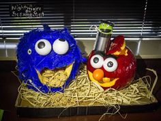 CoServ 2015 Pumpkin Carving Contest Entry - FIRST PLACE (Nightmare on Sesame Street)
