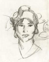 Portrait of Margaret by J.D.Fergusson