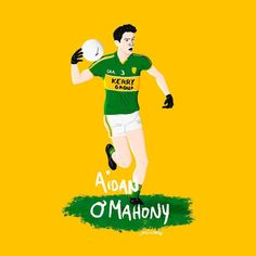 Tough as teak Kerry defender Aidan O'Mahony has called it a day with the Kingdom Football Team, Teak, Illustration, Instagram Posts, Sports, Ireland, Hs Sports, Football Squads, Illustrations