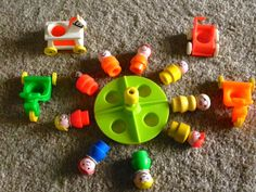 Awesome Vintage Fisher Price Park Set by AlchemyCollectibles, $25.00