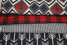 Limited Time Only: Black Arrows Lodge Red by DesignsbyChristyS