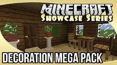 New post (Decoration Mega Pack Mod 1.8) has been published on Decoration Mega Pack Mod 1.8  -  Minecraft Resource Packs