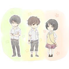 Kokonoe Arata / Nine, Hisami Touji / Twelve & Mishima Lisa  - Zankyou no Terror / Terror in Resonance