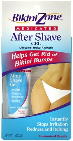 Get Rid of Bikini Bumps Medicated After-Shave Gel Stops Irritation, Redness & Itching Instantly  #hairremoval #laserhairremoval #shaving