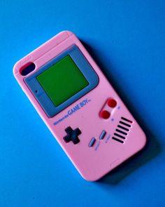 Pink Gameboy iPhone case