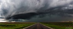 "Highway to Hell - ""Highway 18"" Taken May 25th 2015 5:05:08 PM west of Hurley, South Dakota on Highway 18. Photography by Aaron J. Groen"