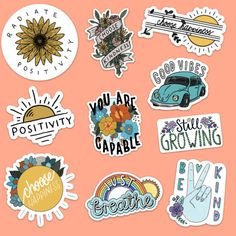 Big Moods has a great selection of affordable art stickers such as mood stickers, vine stickers, hydro flask stickers, bumper stickers, skateboard stickers & more. Visit our online sticker shop now! Tumblr Stickers, Cool Stickers, Printable Stickers, Laptop Stickers, Planner Stickers, Stickers Online, Diy Sticker, Sticker Shop, Sticker Design