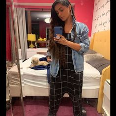 Lilly Singh, Overalls, Take That, Selfie, Coat, Jackets, Pants, Instagram, Fashion