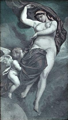 Gea - Anselm Feuerbach (1875). Fresco del techo de la Academia de Bellas Artes. Viena.Gea (latín), Gaya (griego antiguo), Gaĩa (romano), Koiné (bizantin), literalmente: «Tierra» es la diosa primigenia que personifica la Tierra en la mitología griega. Es una deidad primordia en el antiguo panteón griego, considerada la Tierra Madre. Tras el Caos, surgió Gea.