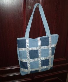 Best 12 Embroidered denim bag Jeans bag with ribbons embroidered Recycled fabric sac Summer floral purse Shoulder bagful Eco friendly tote bag – SkillOfKing. Denim Tote Bags, Denim Purse, Patchwork Bags, Quilted Bag, Recycled Denim, Recycled Fabric, Denim Crafts, Embroidered Bag, Handmade Bags