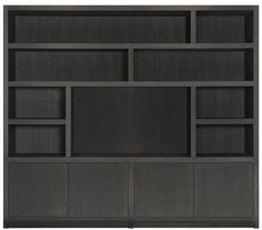 TV/wall unit with compartments Keijser & Cocompartments Built In Furniture, Tv Wall, Luxury Living Room, Black Closet, Home Furniture, Apartment Makeover, Home Deco, Ranch Decor, Wall Unit