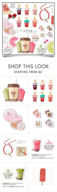 """""""Share your summer picnic outfit and WIN US$40 store coupons!"""" by ewa-naukowicz-wojcik ❤ liked on Polyvore featuring Etude House and peripera"""