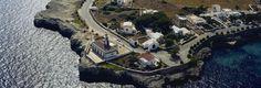 FARO DE SA FAROLA #Ciutadella #Menorca Ciutadella Menorca, Costa, City Photo, Water, Outdoor, Street Lamp, Islands, Viajes, Water Water