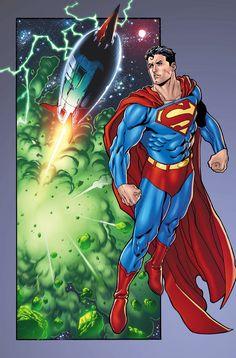 #Superman #Fan #Art. (War of the Supermen 0 p15) By: BlondTheColorist.