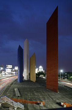 Satellite Towers - Mexico City, Mexico