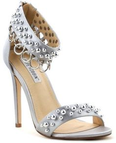 Cape Robbin Suzzy Ankle Strap Beaded Heel