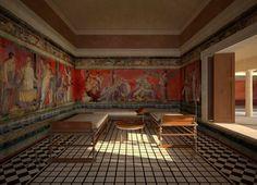 Villa of the Mysteries - AD79eruption