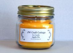 Check out this item in my Etsy shop https://www.etsy.com/listing/289540183/candle-soy-candle-apple-pie-scent-candle