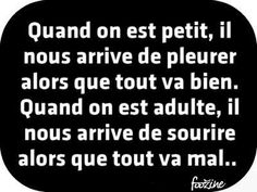 Gif Panneau Humour (178) Jolie Phrase, French Quotes, Les Sentiments, Decir No, Messages, Mood, Thoughts, Humor, Motivation