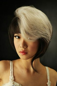 two tone hair color