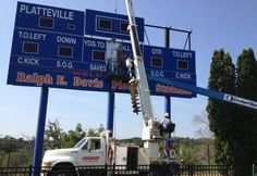 New video scoreboard coming to Ralph E. Davis Pioneer Stadium at the University of Wisconsin-Platteville.
