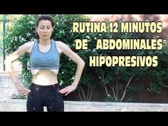 RUTINA DE ABDOMINALES HIPOPRESIVOS 12 MINUTOS- Para reducir cintura y abdomen rapidamente - YouTube