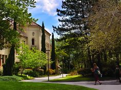 Southern Oregon University. Such a beautiful campus! I was blessed to have been able to study theatre here!