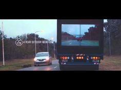NEW YORK Uno schermo sul retro di un camion per salvare la vita a chi guida in stato di ebrezza o pensa