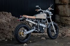 Honda XR 600 Street Tracker by 66 Motorcycles