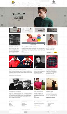 In-depth: A fashion brand CRO case study How golfing brand Lyle & Scott achieved a Increase in Revenue Per Visitor Throughout its 140 year history, Lyle & Scott has built a global. Lyle Scott, Case Study, Fashion Brand, Insight, Digital Marketing, Classic, Creative, Cases, Collection