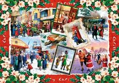 Christmas Traditions Wooden (250pc) Jigsaw Puzzle by Wentworth Wooden Jigsaw Puzzles