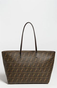 I really want tis for the new baby's diaper bag, I think it NEEDS IT!!!  Fendi 'Roll' Tote available at #Nordstrom