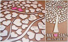 Cada convidado deixa sua assinatura em um coração.  Depois, é possível descer a base e colocar um vidro, transformando-o em um lindo quadro decorativo.    Personalizado com os nomes dos noivos ou iniciais.